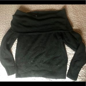 H&M Divided off the shoulder knit sweater
